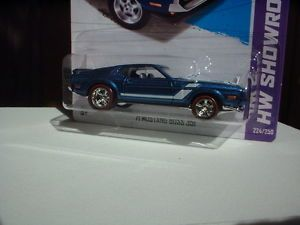 Hot Wheels 2013 '71 Mustang Boss 351 Custom Wheels R R