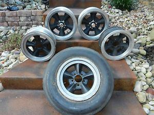 Vintage American Racing Torq Thrust Wheels Rims Ford Mopar