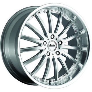 18x9 5 Silver Advanti Racing Afoso Wheels 5x120 35 Acura MDX Chevrolet