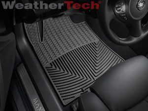 WeatherTech All Weather Floor Mats Nissan Maxima 2009 2013 Black