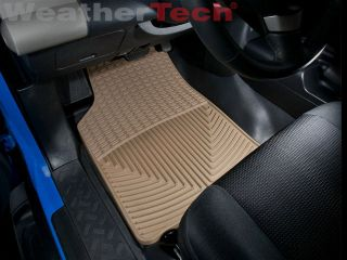 Weathertech® All Weather Floor Mats Toyota FJ Cruiser 2007 2014 Tan