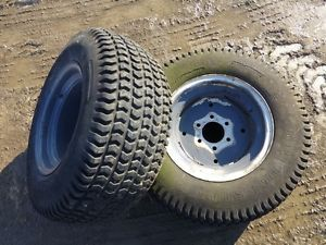 Allis Chalmers 5015 Tractor Bridgestone 29x12 00 15 Rear Tires Rims