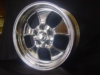 "1 18x9 5"" American Racing Custom Bilt Hopster Ford Mopar Chevy Wheels"