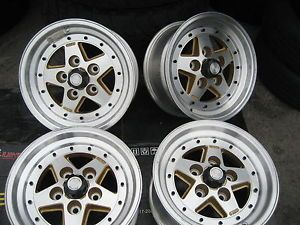 "15"" American Racing Wheel Set 5 Lugs Rims Chevy Pick UPS Dodge Trucks Van"