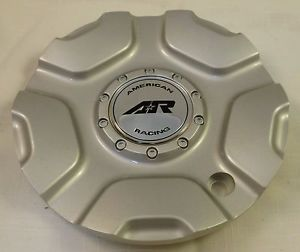 AR American Racing Wheels Silver Custom Wheel Center Cap Caps 1 1607200016