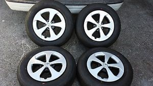 "2013 15"" Factory Toyota Prius Wheels Bridgestone Tires Matrix Corolla 04 12"