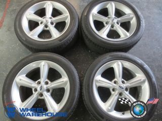 "Four 2010 12 Ford Mustang Factory 18"" Wheels Tires Rims 3834 Pirelli"