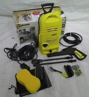 Karcher Modular Series 1600PSI Electric Pressure Washer w Car Care Kit K2 27CCK