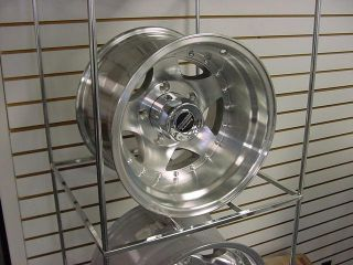 "American Racing AR23 ""15x10"" Jeep Dodge Ford Chevy GMC Wrangler Wheels"