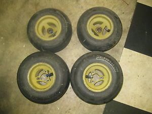 Go Kart Racing Aluminum Wheels and Bridgestone Tires