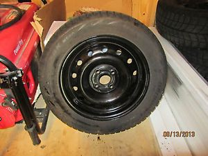 2004 Honda Civic LX Rims with Bridgestone Blizzak WS60 Winter Tires Mounted
