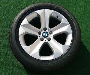 Perfect New Genuine Factory BMW x6 19 inch Wheels Bridgestone Runflat Tires