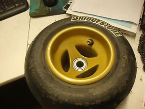 Bridgestone Go Kart Tire Aluminum Wheel Barstool Racer Custom Radio Flyer