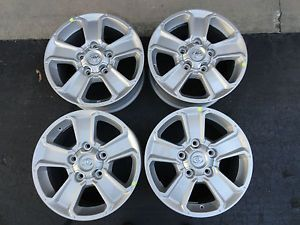 "Set of 18"" 2014 Factory Silver Toyota Tundra Replacement Wheels Rims 18x8"
