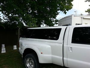 A R E Truck Cap Z Series 2008 2014 Ford F250 350 8' Bed Z1 White Paint