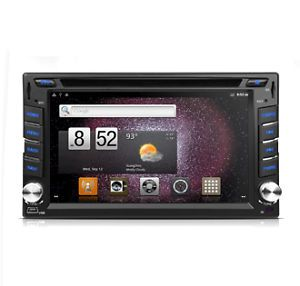 "Xtrons TD610A 6 2"" Android OS Touch Screen Digital LED Panel Car DVD Player GPS"