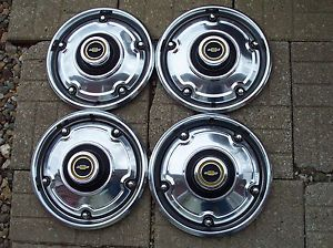 1969 1970 1971 1972 1973 1974 1975 Chevy Pickup Truck Wheel Covers Hub Caps Nice