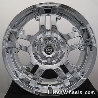 17x9 Chrome American Racing ATX Artillery Wheels 8x6 5 12 Lifted Ford