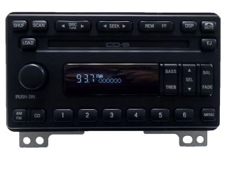 03 04 Lincoln Aviator Premium Radio Stereo Receiver 6 Disc Changer CD Player