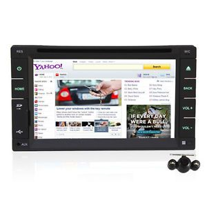Double DIN Car Radio DVD Player Pure Android WiFi Bluetooth Free Backup Camera