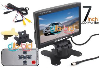 "7"" TFT LCD Car Rear View Color Screen Monitor 2"