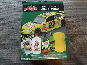 Paul Menard Turtle Wax Complete Car Care Gift Pack Includes T Shirt Spray Wax