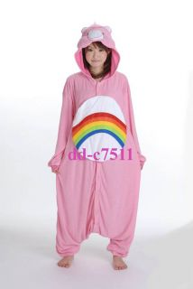 KIGURUMI Costume Pajamas SAZAC Cheer Bear Care Bear Fleece Wear Japan Animal 078