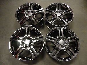 "Acura TSX Honda Accord Civic CRV 17"" x 7"" Chrome Alloy Wheels Rims Set of 4"