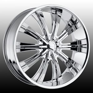 22 inch Versante 220 Wheels Tires Fit 300 Chrysler Charger Chevy Ford Cadillac