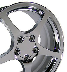 "17"" Corvette C5 Style Wheels Set Rims Fit Camaro"