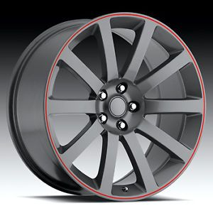 "20x9"" Chrysler 300C SRT8 Charger Magnum Challenger Wheels Rims Set 4 Mopar Dodge"