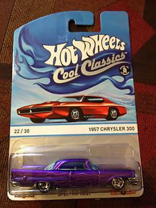 2013 Hot Wheels Cool Classic 1957 Chrysler 300 D Case Red Card