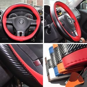 Car Steering Wheel Cover Red