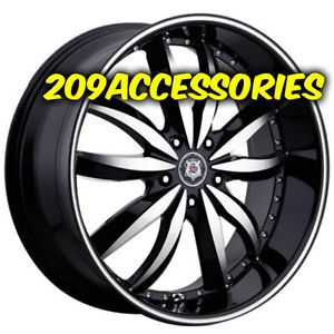 22 inch Sevizia 427 B M Rims Wheels and Tires Ridgeline Acura MDX Rangerover