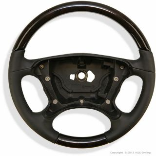 Mercedes CLS Class W219 Wood Leather Steering Wheel New A 219 460 21 03 9E37