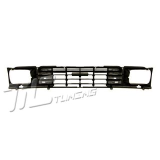 1984 1986 Toyota Pickup 2WD Black Grille Grill New Front Body Parts