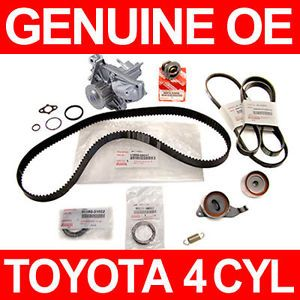 Toyota Solara Timing Belt Water Pump Kit 4 Cylinder 2 2L Genuine Parts