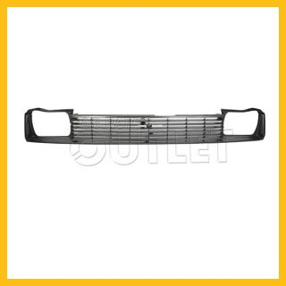 1984 1985 Toyota Corolla Front Grille TO1200115 Mat Black to 8 85 4DR Le Limited