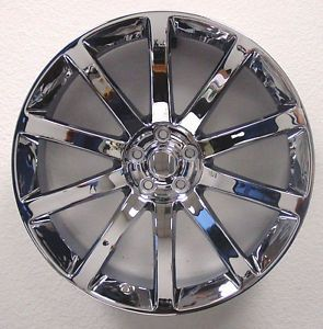 "4 20"" Chrome Chrysler 300C Challenger Charger Magnum Wheels Rims Set SRT8"