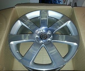 "Chrysler 300 SRT8 20"" Polished Silver Wheels Factory Used"