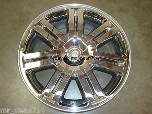 "18"" Chrysler Sebring Chrome Wheel Rim Factory 08 09 Convertible 2285"