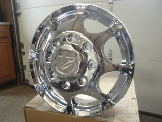 "Vision Dually ""Chrome"" Wheels Ford Chevy Dodge 16"