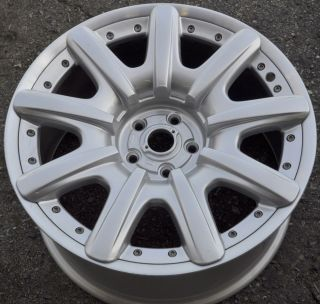 "Bentley 19"" Wheel Rim Factory Machined Lips and Rivets XX"