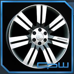 "Cadillac Escalade 24"" inch Silver Wheels GMC Chevrolet Rims  New"