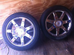"Factory Cadillac Escalade 22"" Rims Tires"