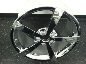 2006 2013 Corvette 5 Spoke Chrome Wheel