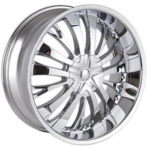"18"" Tyfun TF705 Chrome Rims for Dodge Fiat Ford Honda Wheels"