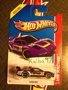 2013 Hot Wheels Racing Acura NSX Purple Case M NIP