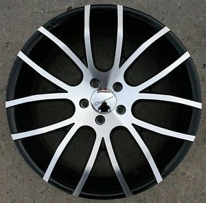 "Giovanna Kilis 20"" Black Rims Wheels Acura MDX RDX 20 x 8 5 5H 38"