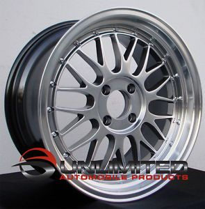 "16"" Varrstoen V4 LM Style Hyper Black Wheels Rims Fit Acura Integra LS GS RS GSR"